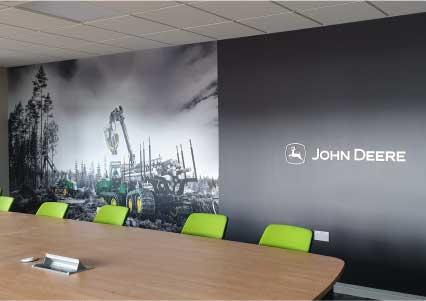 Astaura client John Deere Forestry Office